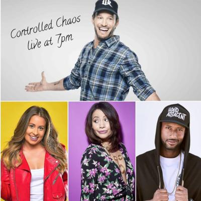 Cover art for Controlled Chaos w/ Josh Wolf: Guests James Davis, Candice Thompson and James Davis