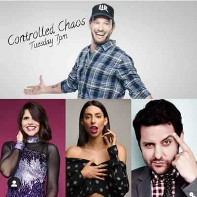Cover art for Controlled Chaos w/ Josh Wolf: Guests Justine Marino, Ben Gleib and Jade Catta-Pretta