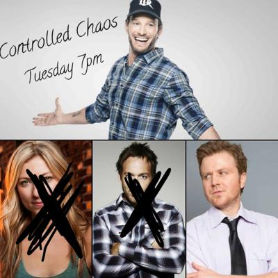 Cover art for Controlled Chaos w/ Josh Wolf: Guests Gareth Reynolds and Sandy Danto