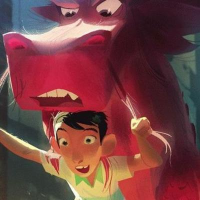 Cover art for Aron Warner on Sony's WISH DRAGON and their new international slate