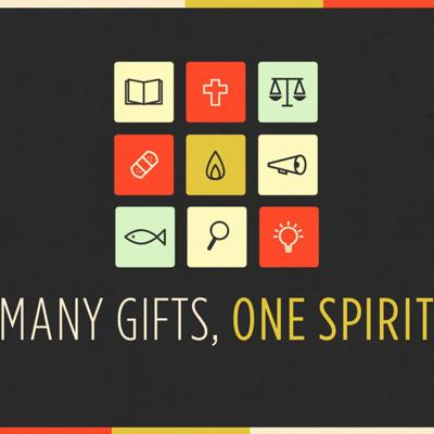 Cover art for Many Gifts, One Spirit