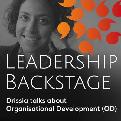 Cover art for #13_Deborah Baron interviews Drissia Schroeder-Hohenwarth about OD for Leaders, Pittsburgh-Cologne
