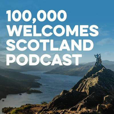 Cover art for 100,000 Welcomes: Scotland On Screen