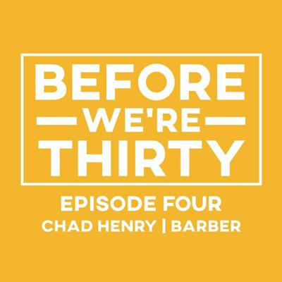 Cover art for E4 | Chad Henry | Becoming a Barber
