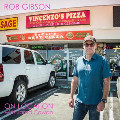 Cover art for Ep. 9: Rob Gibson at Vincenzo's Pizza from