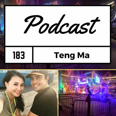 Cover art for FPV Podcast #183 - Teng Ma