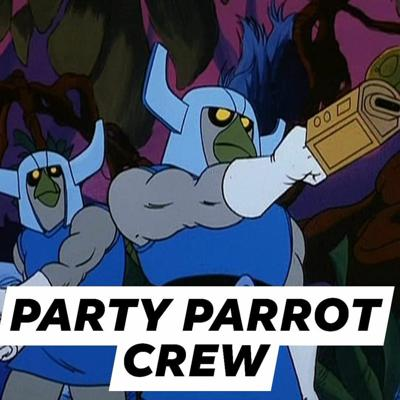 Cover art for Episode 27: Party Parrot Crew
