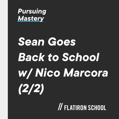 Cover art for Sean Goes Back To School With Nico Marcora 2 Of 2