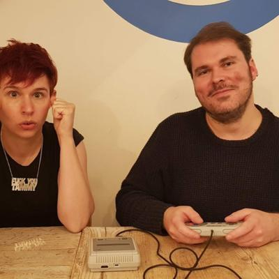 Cover art for Stephen Sexton & Kirsten Irving talk poetry and video games
