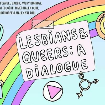 Cover art for Lesbians & Queers: A dialogue – Interview with Lise Weil