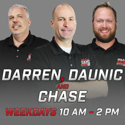 Cover art for Darren, Daunic & Chase; Hour One, 11/8/19