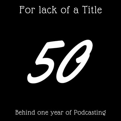 Cover art for Behind One Year of Podcasting