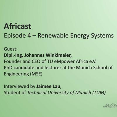 Cover art for Ep4 - Renewable Energy