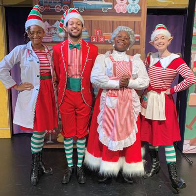 Cover art for AUDIO FOOTLIGHTS: Mrs. Claus Saves the Day Edition