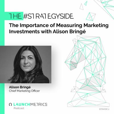 Cover art for #TheStrategySide: The Importance of Measuring Marketing Investments with Alison Bringé