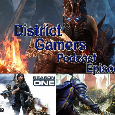 Cover art for District Gamers Podcast S1E9: Shadow Warfare Classic