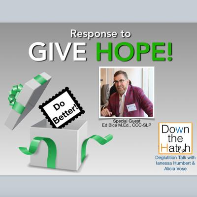 Cover art for Response to the Give Hope Podcast