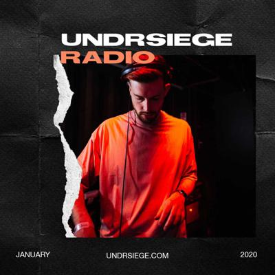 Cover art for UNDRSIEGE Radio January 2020