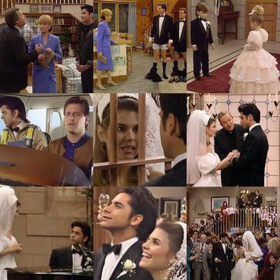 Cover art for Full House S4E18S4E19 The Wedding Parts 1 And 2 (Jesse & Becky: A Love Story Series)