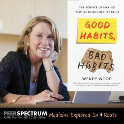 Cover art for Harnessing the habitual mind. Psychologist & behavioral scientist, Wendy Wood, PhD