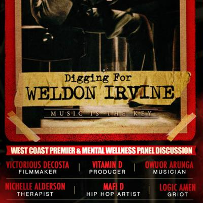 Cover art for Digging for Weldon Irvine Mental Health Wellness Discussion