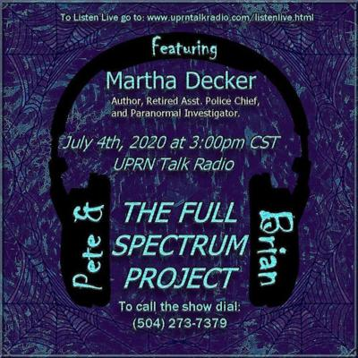 Cover art for The Full Spectrum Project with Brian and Pete W/ Martha Hazzard Decker