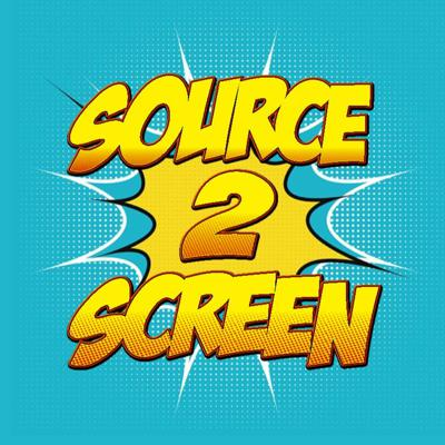 Cover art for Source2Screen Podcast - Best DC Villain Adaptions Part 1