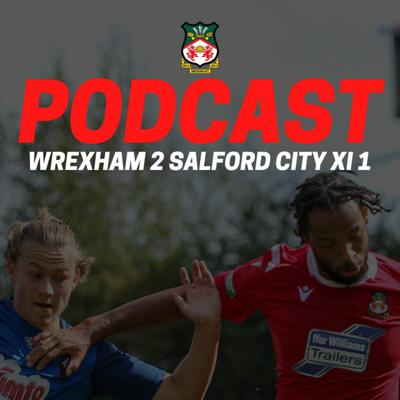 Cover art for Wrexham 2 Salford City XI 1