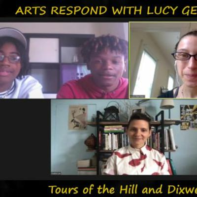 Cover art for Arts Respond With Lucy Gellman | Tours Of The Hill And Dixwell