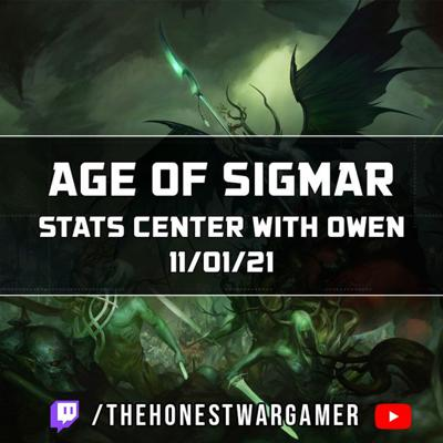 Cover art for Age of Sigmar Stats Center (11/01/21)