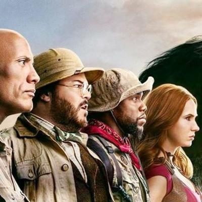 Cover art for The Spin Off Doctors: Jumanji: The Next Level