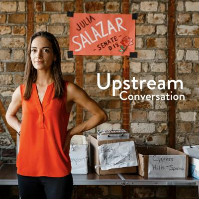 Cover art for Julia Salazar on the coronavirus, feminist economics, and democratic socialism (In Conversation)