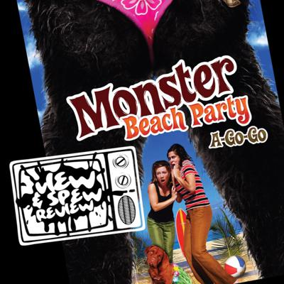 Cover art for MONSTER BEACH PARTY A GO GO (2009) -  View & Spew Review