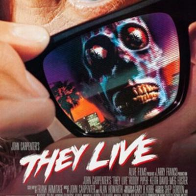 Cover art for Streaming Service and Chill review of They Live w/ Best Friend Scottie