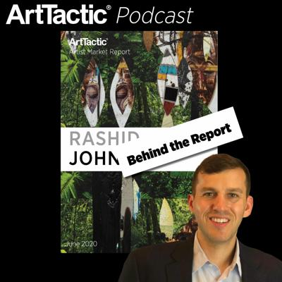 Cover art for Behind The Report: Artist Market Report Rashid Johnson