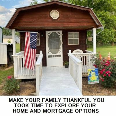 Cover art for MAKE YOUR FAMILY THANKFUL YOU TOOK TIME TO EXPLORE YOUR HOME AND MORTGAGE OPTIONS