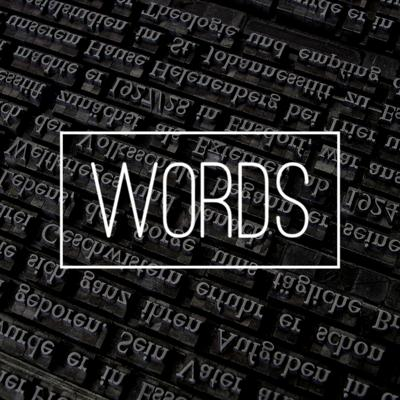 Cover art for Words - Tom Curee