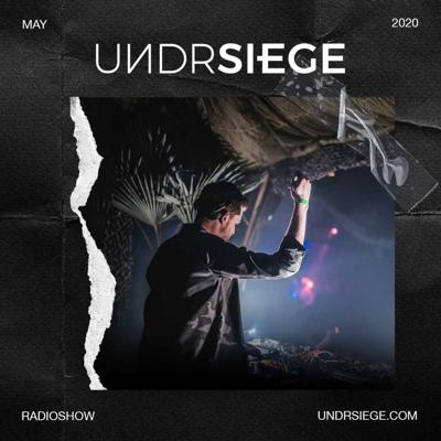 Cover art for UNDRSIEGE Radio May 2020