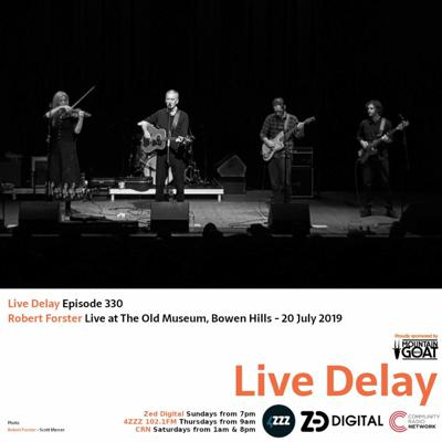 Cover art for Live Delay - Ep 330 - Robert Forster Part 2