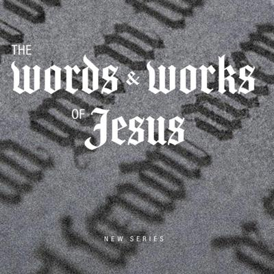 Cover art for The words & works of Jesus series - part 1