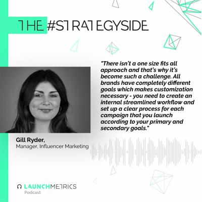 Cover art for #TheStrategySide: How to Measure Your Influencer Campaigns Effectively with Gill Ryder
