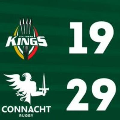 Cover art for Southern Kings Away review - Craggy Rugby podcast Connacht coverage S5E36