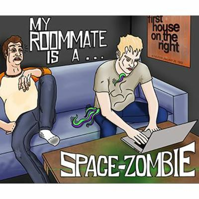 Cover art for My Roommate Is A Space-Zombie