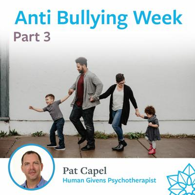 Cover art for Part 3 - Anti-Bullying Week - Pat Capel