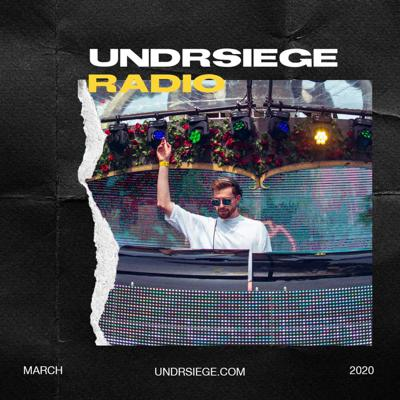 Cover art for UNDRSIEGE Radio March 2020