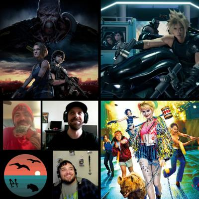 EP 41 - 3 Year Anniversary! Final Fantasy 7 & RE3 remake, Birds of Prey, Diablero, The Witcher