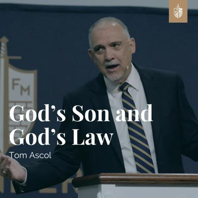 Cover art for God's Son and God's Law | Tom Ascol