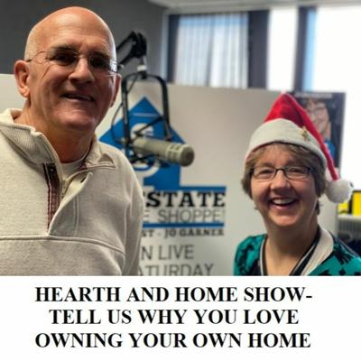 Cover art for HEARTH AND HOME SHOW-TELL US WHY YOU LOVE OWNING YOUR OWN HOME