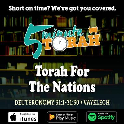 Cover art for Parashat Vayelech - Torah For The Nations