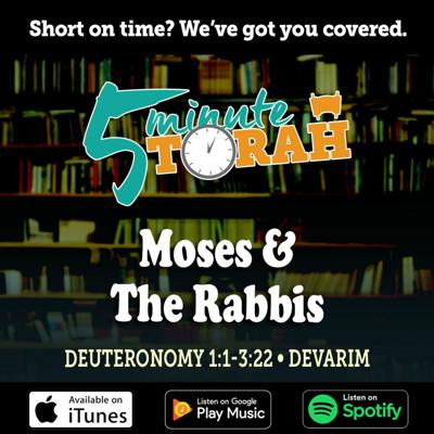 Cover art for Parashat Devarim - Moses And The Rabbis